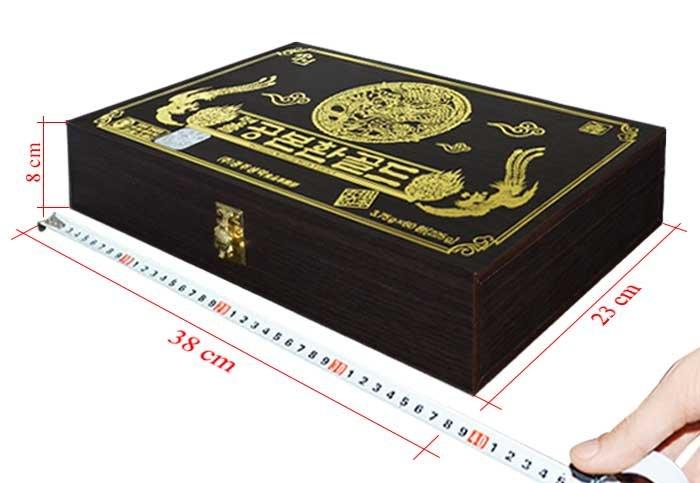 ĐTHT Hàn Quốc hộp gỗ 60 viên D023 5