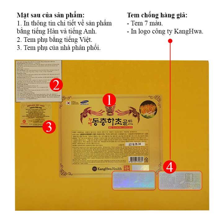 ĐTHT hộp gỗ vàng 60 gói cao cấp D043 3