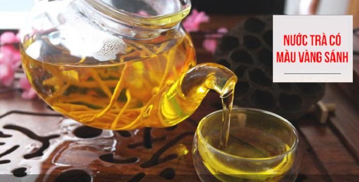 dùng nấm đông trùng hạ thảo để hãm trà 2