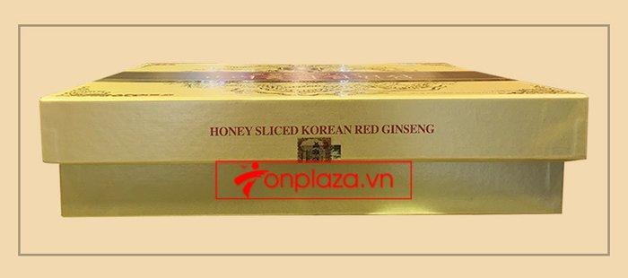 Hồng sâm thái lát tẩm mật ong Bio Apgold Hàn Quốc NS030 3