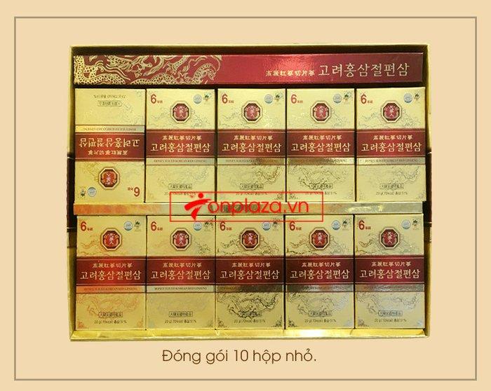 Hồng sâm thái lát tẩm mật ong Bio Apgold Hàn Quốc NS030 4