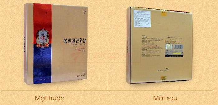 Hồng sâm tẩm mật ong cao cấp chính phủ KGC hộp 240g  NS453 4