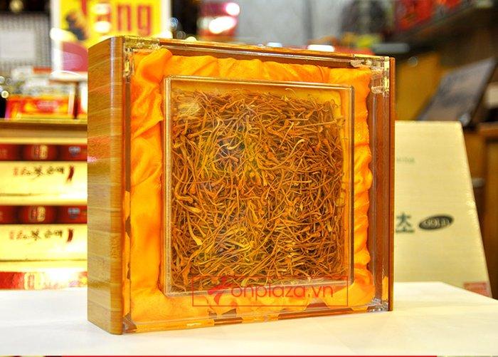 Nấm đông trùng hạ thảo khô cao cấp sản xuất tại Việt Nam hộp 500gr D207 1