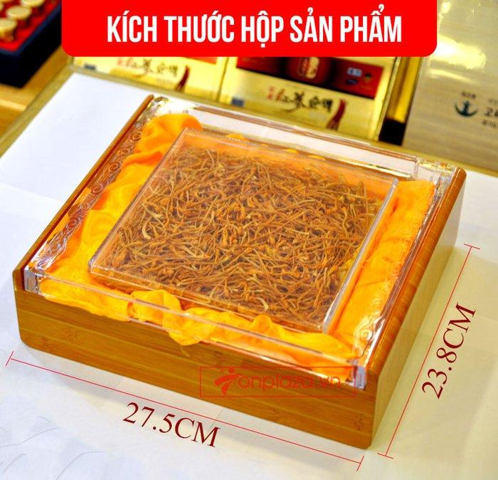 Nấm đông trùng hạ thảo Việt Nam sấy khô cao cấp hộp 100gr D205 2