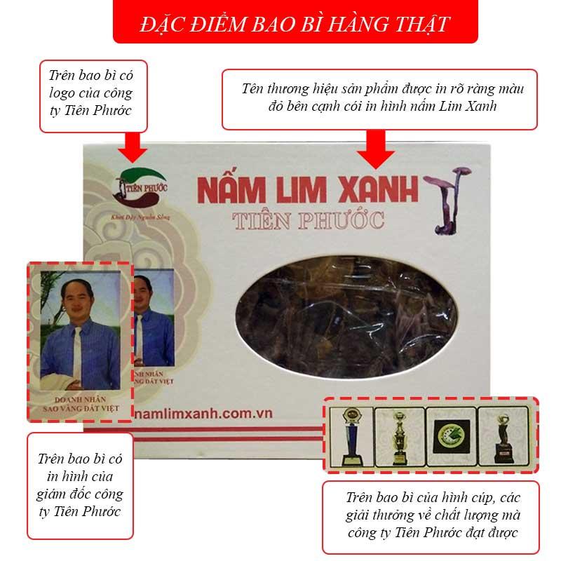 Nấm Lim Xanh Tiên Phước 0.5 kg (hồng chi) L013 2