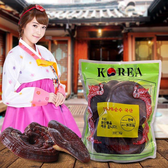 Nấm linh chi đỏ thượng hạng Hàn Quốc L048 1