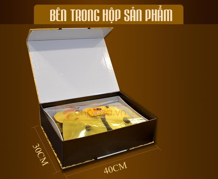 Nấm linh chi đỏ thượng hạng hộp quà biếu (1kg/ hộp) L047 3