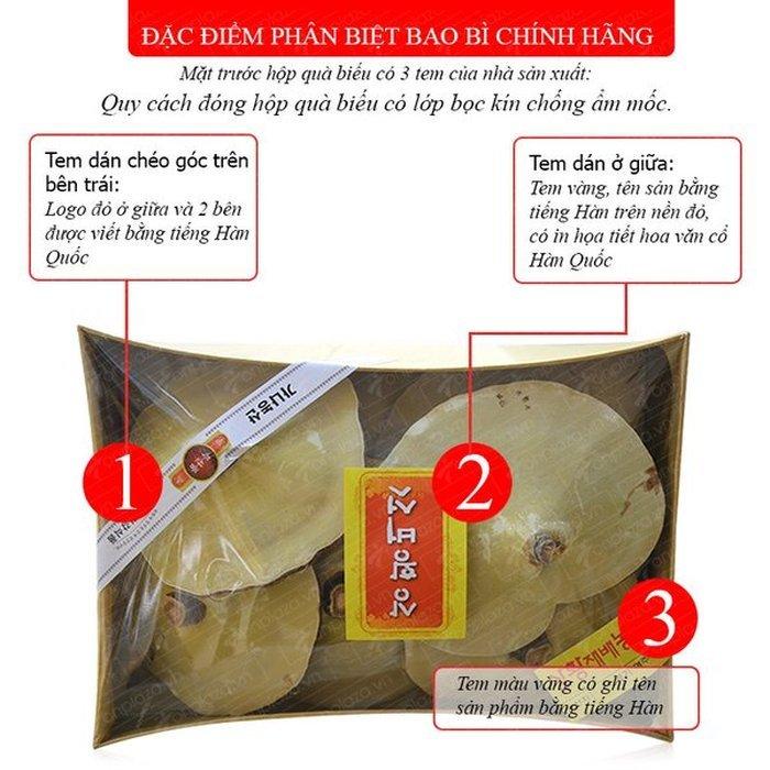 Nấm linh chi vàng thượng hạng Hộp quà biếu (1kg/ hộp) L027 2