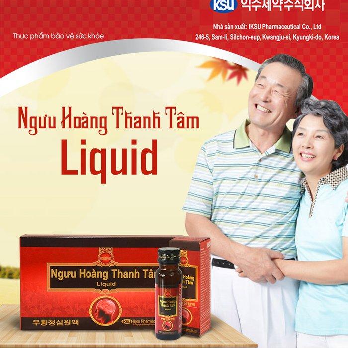 Ngưu hoàng thanh tâm Hàn Quốc Liquid A035 1
