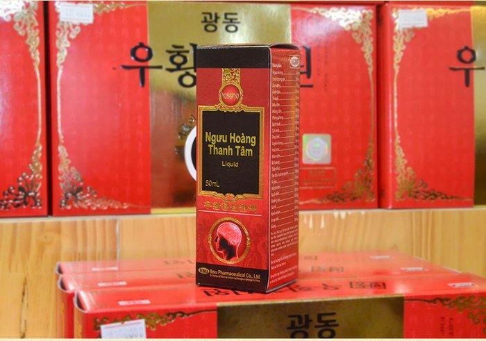 Ngưu hoàng thanh tâm Hàn Quốc Liquid A035 6
