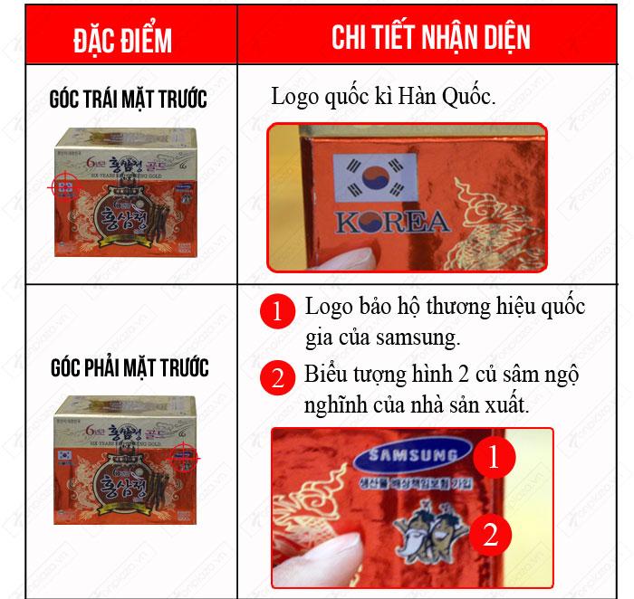 Nhận biết cao hắc hồng sâm hộp sứ xanh 1kg chính hãng NS034 2
