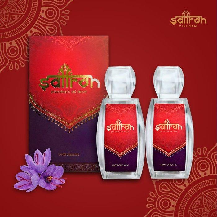 Nhụy hoa nghệ tây IRAN cao cấp Saffron SALAM hộp 6g NT002