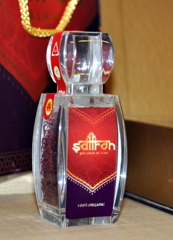 Bộ sản phẩm Nhụy hoa nghệ tây saffron SALAM  trà hoa cúc hộp 5g NT002 5