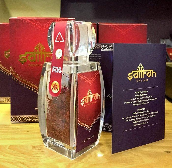 Nhụy hoa nghệ tây IRAN cao cấp Saffron 02