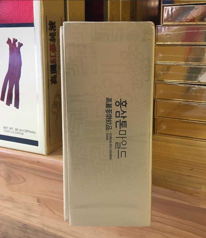 Nước Hồng Sâm cao cấp chính phủ KRG Tonic Mild (Cheong Kwan Jang) Hộp 30 gói NS635 7