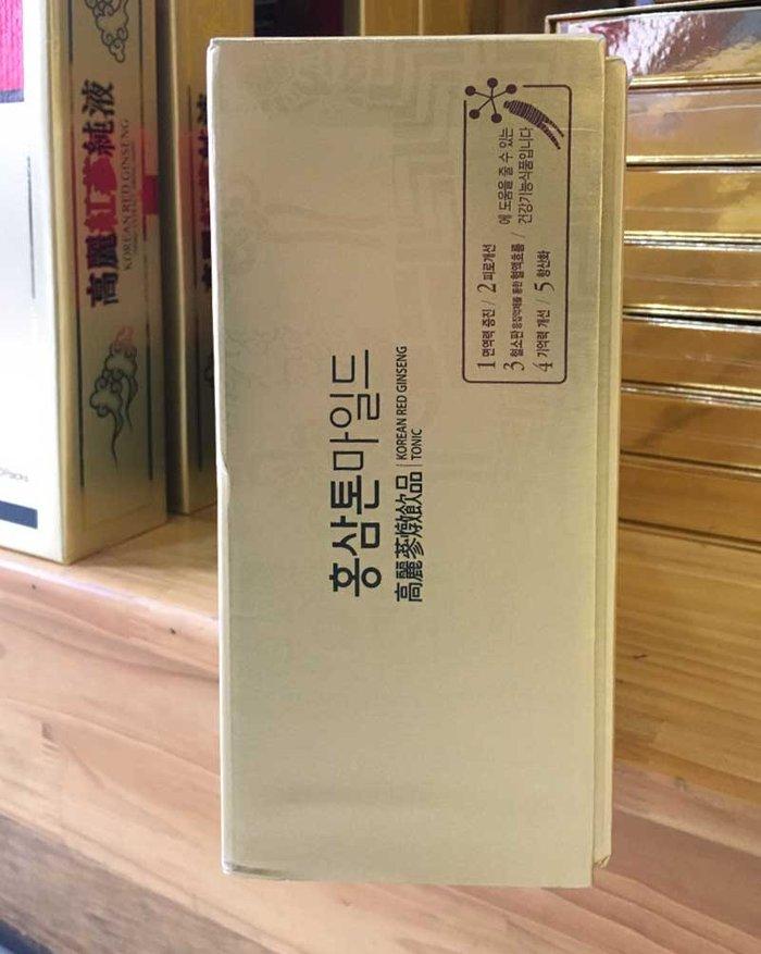 Nước Hồng Sâm cao cấp chính phủ KRG Tonic Mild (Cheong Kwan Jang) Hộp 30 gói NS635 9