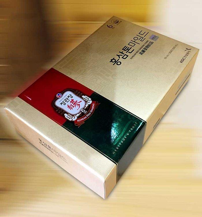 Nước Hồng Sâm cao cấp chính phủ KRG Tonic Mild (Cheong Kwan Jang) Hộp 30 gói NS635 10