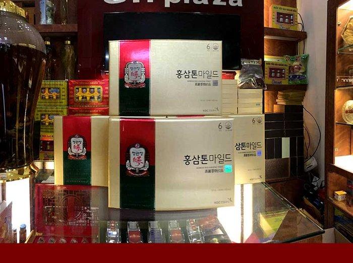 Nước Hồng Sâm cao cấp chính phủ KRG Tonic Mild (Cheong Kwan Jang) Hộp 30 gói NS635 13