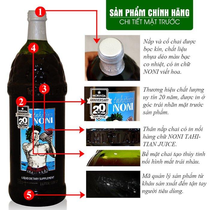 Nước uống Noni Juice loại 1 thùng NO001 2