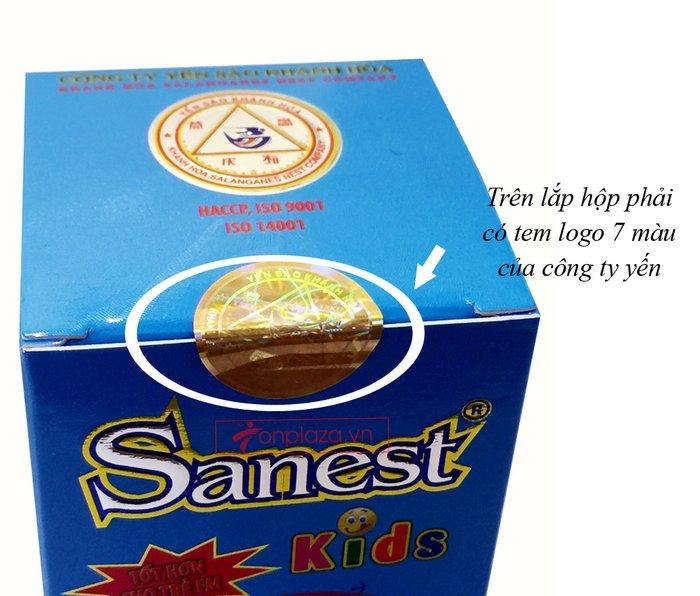 Nước yến sào sanest Khánh Hòa trẻ em cao cấp loại 1 lọ Y071 4