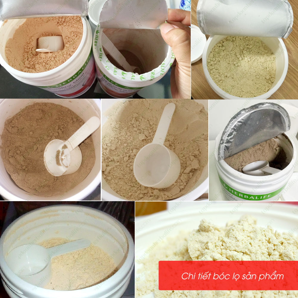 Sữa giảm cân Herbalife Healthy Meal giảm cân F1 10
