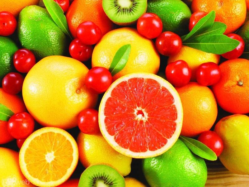 Các vitamin trong hoa quả có khả năng ngăn ngừa và hạn chế sự phát triển của bệnh