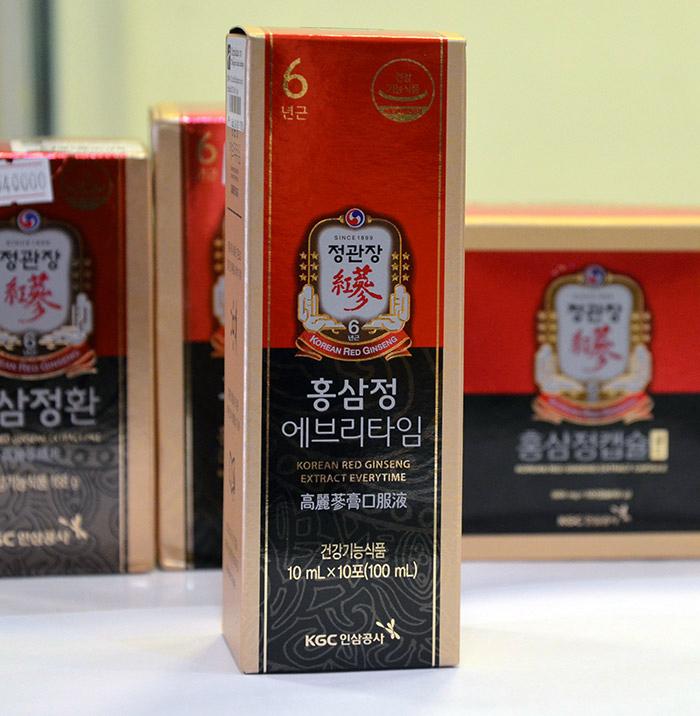 Tinh chất hồng sâm cao cấp chính phủ KGC hộp 30 gói NS454 8