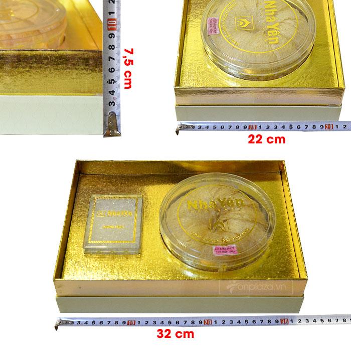 Tổ yến hồng sơ chế thượng hạng (100gr/hộp) cao cấp Y073 8