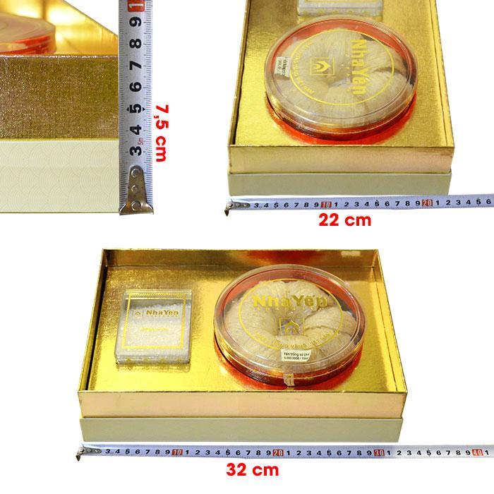 Tổ yến trắng sơ chế Thượng hạng 1 (100g/hộp) cao cấp Y066 8