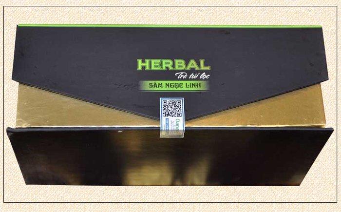Trà sâm Ngọc Linh Herbal túi lọc (40g) NS670 2