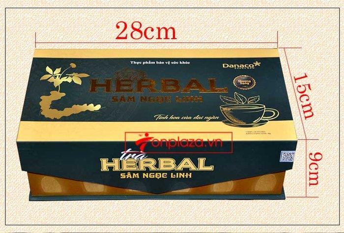 Trà sâm Ngọc Linh herbal túi lọc cao cấp (40g)  NS669 2