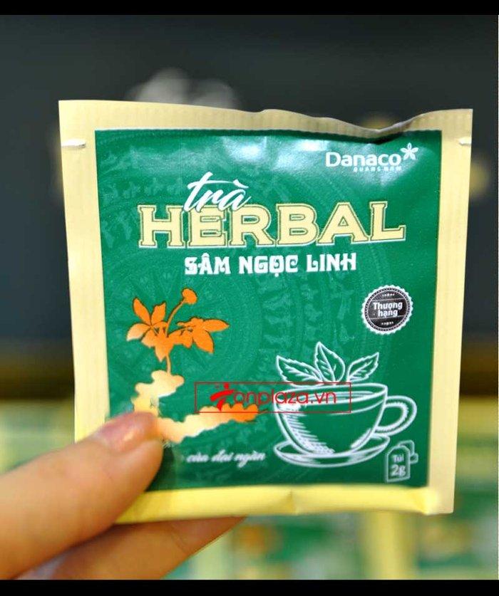 Trà sâm Ngọc Linh herbal túi lọc cao cấp (40g)  NS669 6