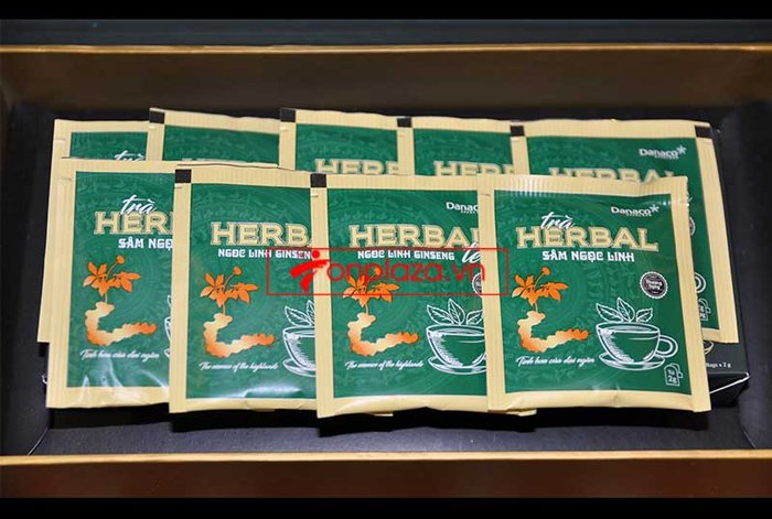 Trà sâm Ngọc Linh herbal túi lọc cao cấp (40g)  NS669 7