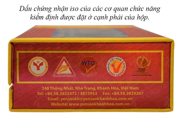 Yến huyết nguyên chiếc cao cấp Khánh Hòa hộp 100g (024) Y007 2