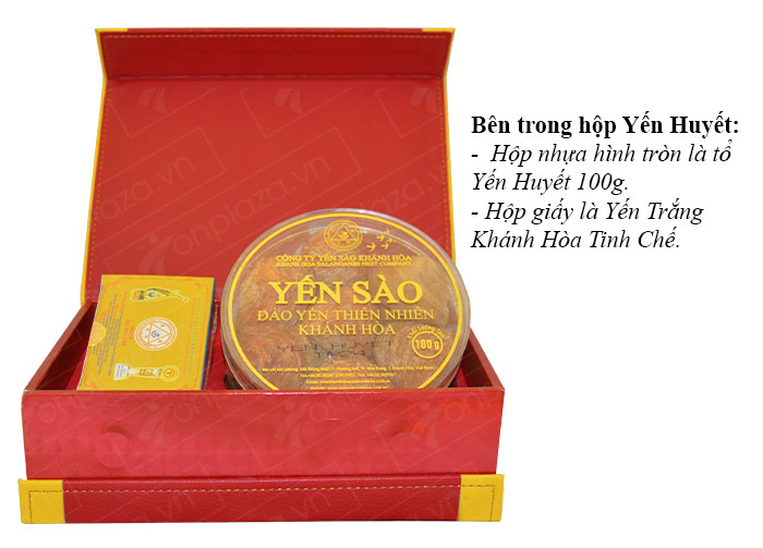 Yến huyết nguyên chiếc cao cấp Khánh Hòa hộp 100g (024) Y007 3