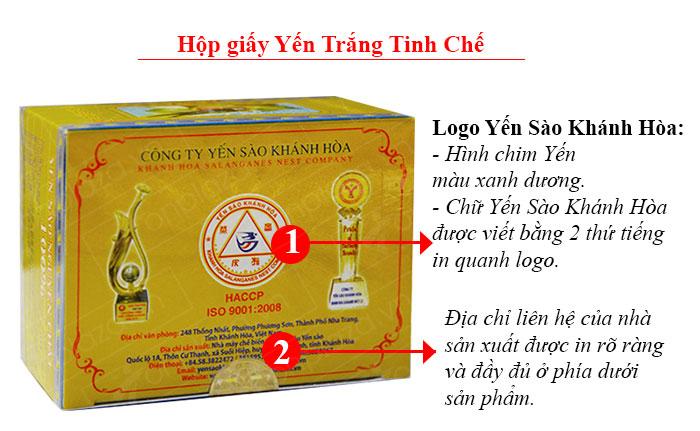 Yến huyết nguyên chiếc cao cấp Khánh Hòa hộp 100g (024) Y007 5