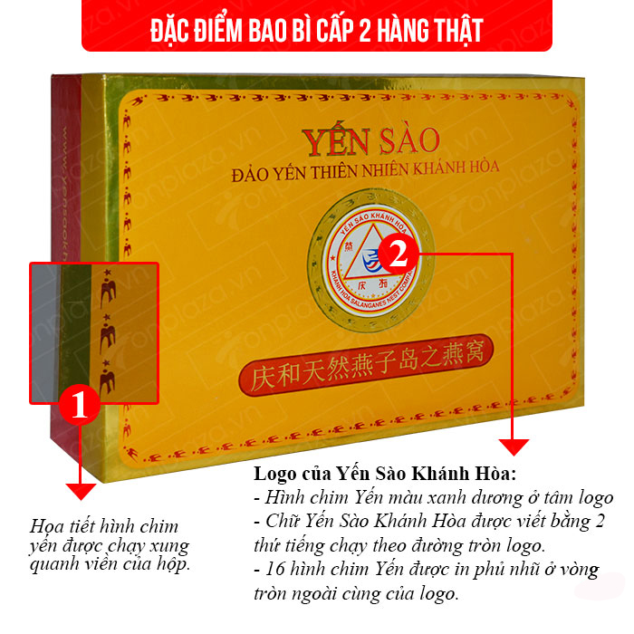 Yến nguyên tổ Khánh Hòa hộp 100g TP1  1