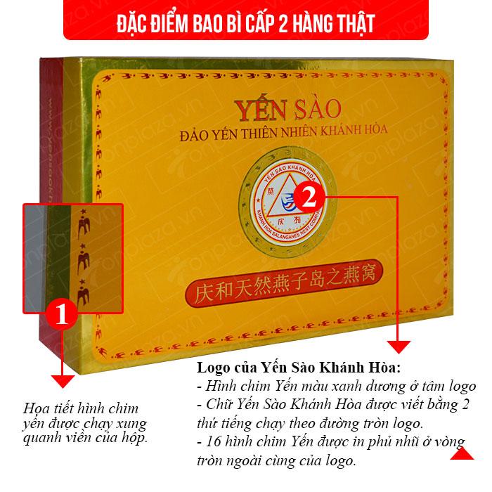 Yến nguyên tổ Khánh Hòa hộp 100g TP5  Y005 1