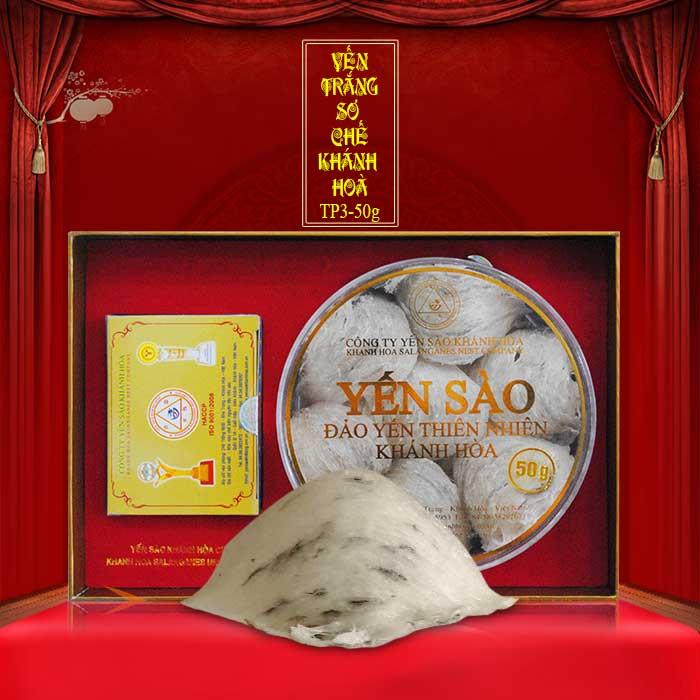 Yến nguyên tổ Khánh Hòa hộp 50g TP3 (053) Y010