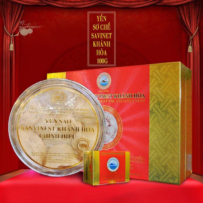 Yến sào cao cấp sơ chế 100 g Savinest Khánh Hòa Y141