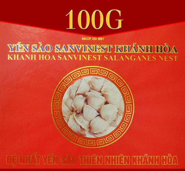 Yến sào cao cấp sơ chế 100 g Savinest Khánh Hòa Y141 1