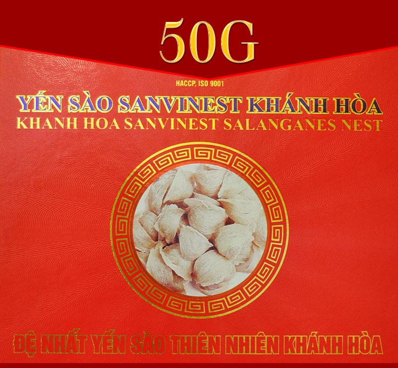 Yến sào sơ chế Sanvinet cao cấp Khánh Hòa 50g Y146 1
