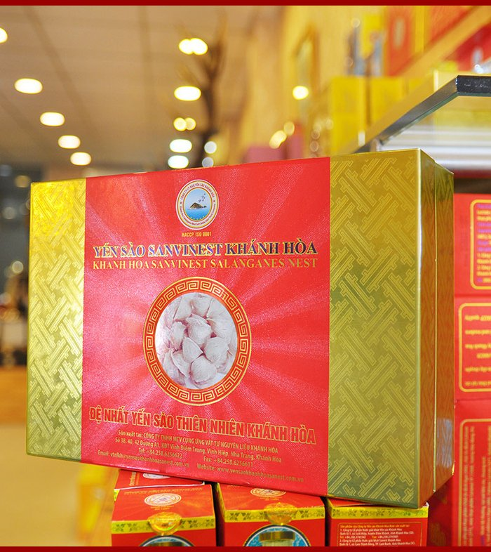 Yến sào sơ chế Sanvinet cao cấp Khánh Hòa 50g Y146 2