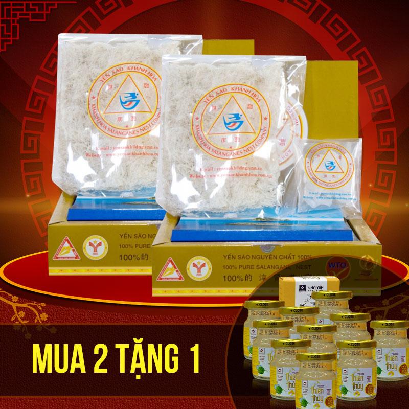 Yến trắng tinh chế Khánh Hòa hộp 100g (H014) Y014