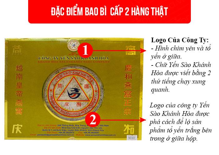 Yến trắng tinh chế Khánh Hòa hộp 100g (H014)  Y014 1