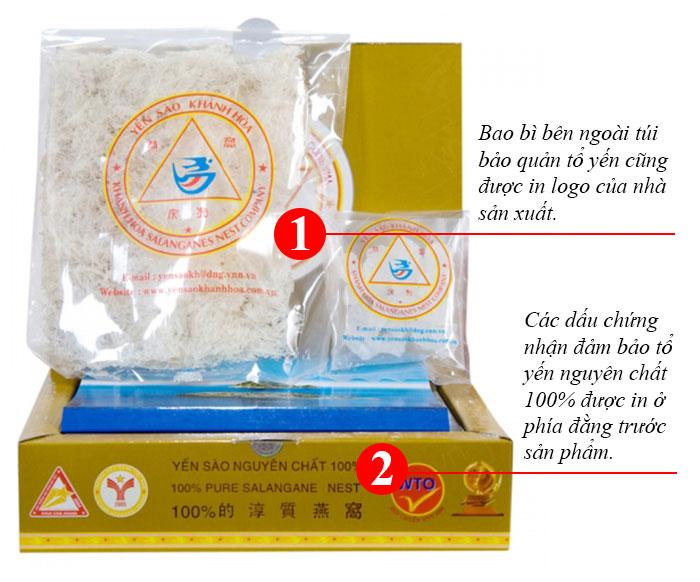 Yến trắng tinh chế Khánh Hòa hộp 100g (H014)  Y014 2