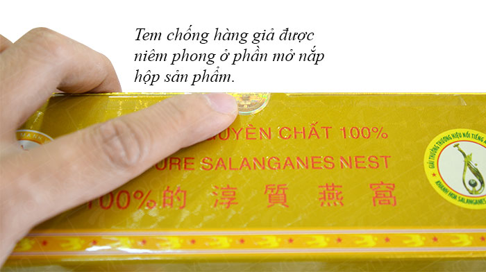 Yến trắng tinh chế Khánh Hòa hộp 100g (H014)  Y014 5