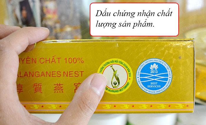 Yến trắng tinh chế Khánh Hòa hộp 100g (H014)  Y014 7