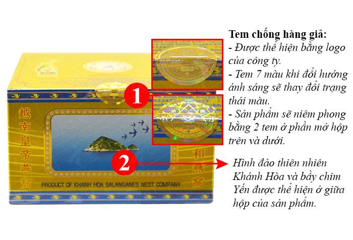 Yến trắng tinh chế Khánh Hòa hộp 3g (H011) Y016 2