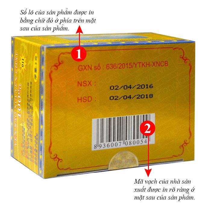Yến trắng tinh chế Khánh Hòa hộp 3g (H011) Y016 3